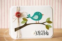 Cards / Handmade cards inspirations and ideas / by Rosa Balzamo