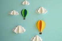 balloons/umbrellas/parasols