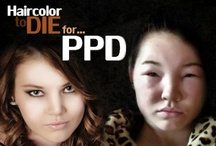 Allergic reactions to PPD / Allergic reactions to Para-PhenyleneDiamine, or PPD. Hair color can be dangerous, and should NOT BE ITCHY!