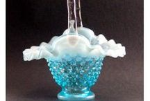 Beautiful Blue Glass / Start or add to your collection of Beautiful Blue Glassware at: www.mainelyglass.com