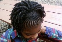 Pigtails and plaits / ALWAYS TRYING TO FIND SOMETHING NEW AND CUTE FOR THE KIDDO'S  / by Shonda Dukes