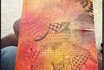 dylusions journal by kass hall / my art journal using dylusions products and techniques by Dyan Reveley (and inspired by others too)