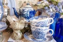 my fav blue & white looks / by Marilyn Martin