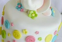 decorate :: single tier cakes / Ideas to inspire me, for single layer cakes