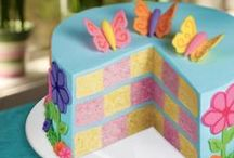 decorate :: chequerboard cakes / Ideas for how to do chequerboard cakes for all occasions