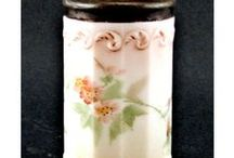 Shake it up with antique salt shakers / Vintage and Antique Salt Shakers make a great collectible.  They come in a variety of shapes and colors which easily blend into any decor.  http://www.mainelyglass.com/salt-shakers