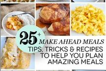 eat :: meal planning / Ideas, printables and recipes for meal planning