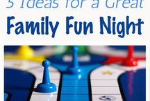 family :: games, crafts / Ideas for games and things to do as a family