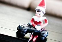 elf on the shelf :: ideas / Ideas for where to place our Elf each night