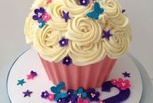 decorate :: giant cupcakes / Ideas on how to decorate giant cupcakes