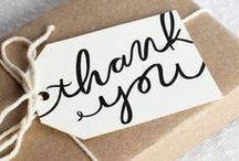 celebrate :: thank you / Thank you for following me plus printables for thank you cards