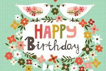celebrate :: happy birthday / Ideas, printables and other birthday-related ideas