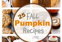 eat :: autumn - pumpkin / Food ideas to make or bake using pumpkin