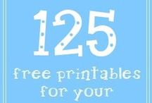 print :: just for fun / Mostly free printables for fun crafts and various holiday times