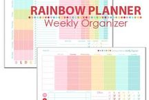 print :: organising / Printables to help keep you and your home organised