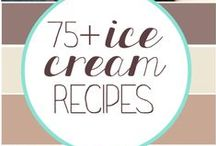 eat :: ice-cream / Recipes for making your own ice-cream or frozen yoghurt or gelato