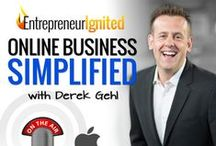 Online Business Simplified / The Entrepreneur Ignited podcast has one goal: To simplify online business so more people can create success online. Listen at http://entrepreneurignited.com/podcast/