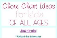 family :: chores and rewards kids / hints and tips to help kids want to help around the house, and reward ideas for them