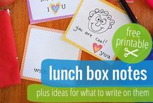 eat :: school lunchbox notes