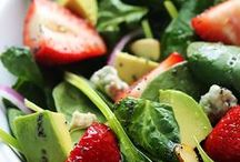 Salads and Sides / Yummy side dishes and lunch salads.