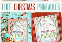 celebrate :: christmas print and craft / Printables and craft ideas relevant to christmas