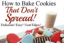 eat :: cookies sugar / recipes, hints and ideas for butter or sugar or shortbread roll-out cookies and royal icing, and similar