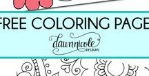 family :: colouring in / Free printable sheets for kids or adults to colour in and enjoy