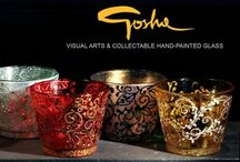 Gosha Nagashima | glass hand painted / Goshaglass... The Fragile Canvas
