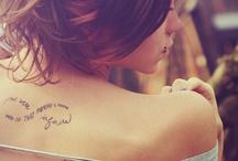 Tattoos / by Yuta Nakamura