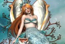 Mermaids and Mermen (Shared Board) / Mermaids cannot be naked PLEASE!! A mermaid is a legendary aquatic creature with the upper body of a woman and the tail of a fish. A merman is a male mermaid! They are wonderful looking creatures. PLEASE READ  Write ADD ME under my ADD ME PIN here or on my ADD ME Board to join. Thanks❤