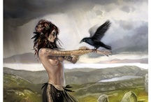 """Morrigan / The Morrigan is a Celtic goddess of battle, strife, and fertility. Her name translates as either """"Great Queen"""" or """"Phantom Queen,"""" and both epithets are entirely appropriate for her. The Morrigan appears as both a single goddess and a trio of goddesses."""