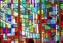Vetrate - Stained glass windows / by Progetto Didatticarte