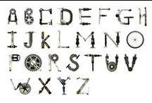Alfabeti - Alphabets / alphabets / by Progetto Didatticarte