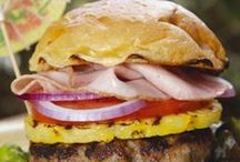 Cheeseburger in Paradise & Sandwiches / All burger and sandwich ideas. / by Jo Levy