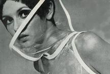 Retro Space Age Couture / Space Age & Futuristic Fashion going 60ies Minimalistic Style
