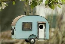 BIRDHOUSE in your soul / I loved feeding the birds and watching them nest. I miss it but we had to stop because our puppies were eating the bird food! This includes bird feeders and watering holes, which I made into a DIY I found on Pinterest! To join let me know on MY FIRST BOARD on my home page. ✿⊱