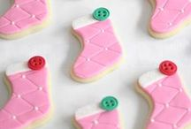 Christmas Cookies / Perfect #cookies for the #Christmas #holiday / by Jocelyn (Grandbaby Cakes)