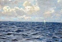Acqua e cielo - Water and sky / sea, ocean, water and colours / by Progetto Didatticarte