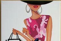 le donne e la moda