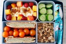 Lunch Boxes + Snacks / Healthy and inspiring food for kids (without too much effort!).