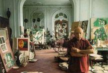Atelier e artisti al lavoro - Studios and artists at work / by Progetto Didatticarte