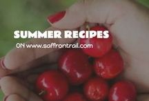 Recipes for Summer / Cooling recipes and recipes using in season produce