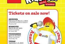 LEGO® KidsFest 2015! / Announcing the 2015 LEGO® KidsFest tour!  / by LEGO KidsFest