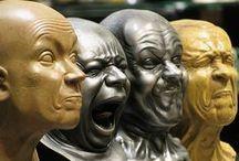 Espressioni facciali - Face expressions / by Progetto Didatticarte