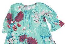 Floral Kids Clothes / Scandinavian Floral Kids Clothes