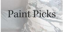 Paint Picks / Fav paint inspiration