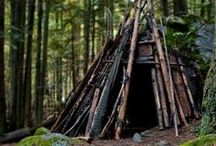 Huts, treehuts, shelters, and that