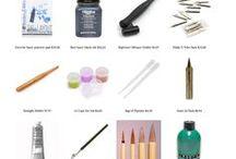 Desenho, material e tipografia