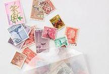 Vintage Stamps.