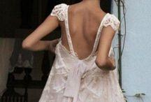 W e d d i n g s / If I could do it again, it'd wear this dress